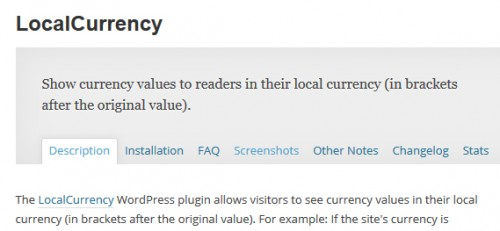 LocalCurrency