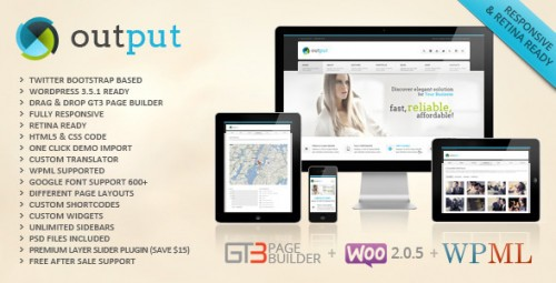 Output - Responsive Multi-Purpose WordPress Theme