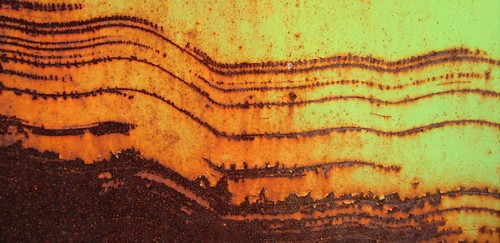 Red and Yellow Rust Texture