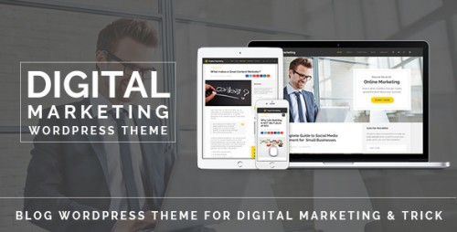 Digital Marketing - Blog WordPress Theme