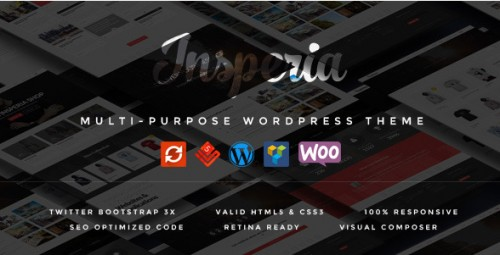 Insperia - A Responsive WordPress Theme