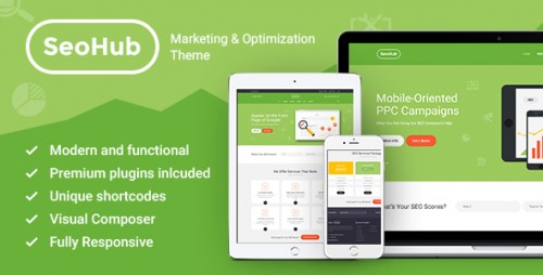 SEOHub - SEO & Marketing WordPress Theme