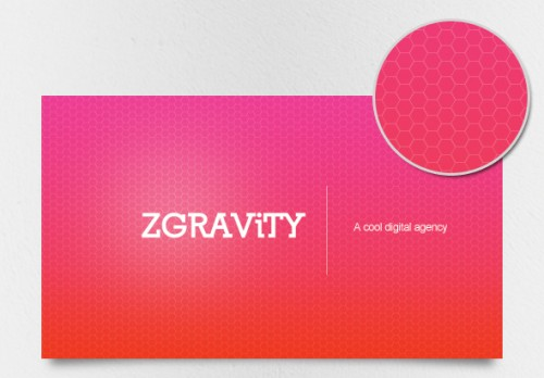 Cool Neon Hive Business Cards