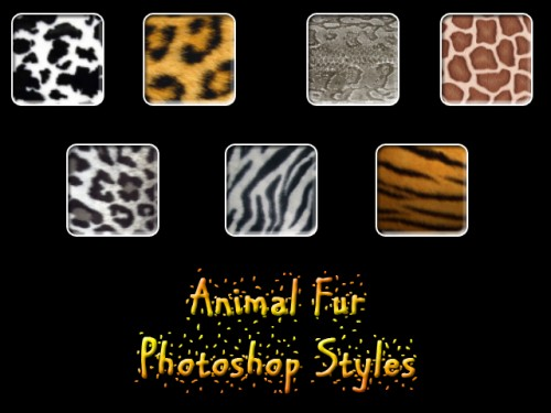 Animal Fur Photoshop Styles